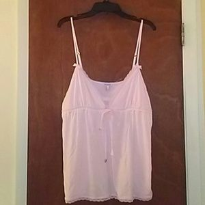 Pink Juicy Couture Camisole Top Bows Hearts